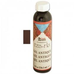 2607-02 Eco-Flo Antik Jel Boya - Koyu Kahve (236 ml)