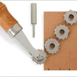8091-00 Craftool® Çarklı Dikiş Deliği Hizalayıcı Set