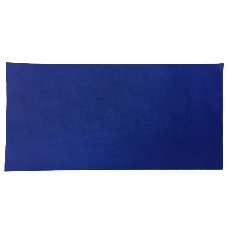 Saffiano Blue Pre-Cut Baskılı Vidala (Cüzdan ve Çantalık) 1.4-1.6 mm