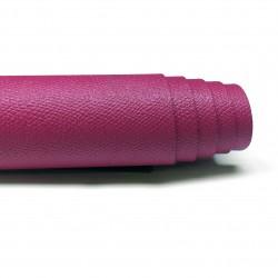 Saffiano Fuschia Pre-Cut Baskılı Vidala (Cüzdan ve Çantalık) 1.4-1.6 mm