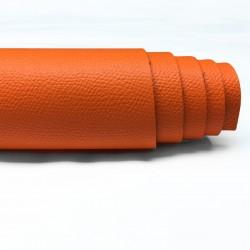 Saffiano Orange Pre-Cut Baskılı Vidala (Cüzdan ve Çantalık) 1.4-1.6 mm