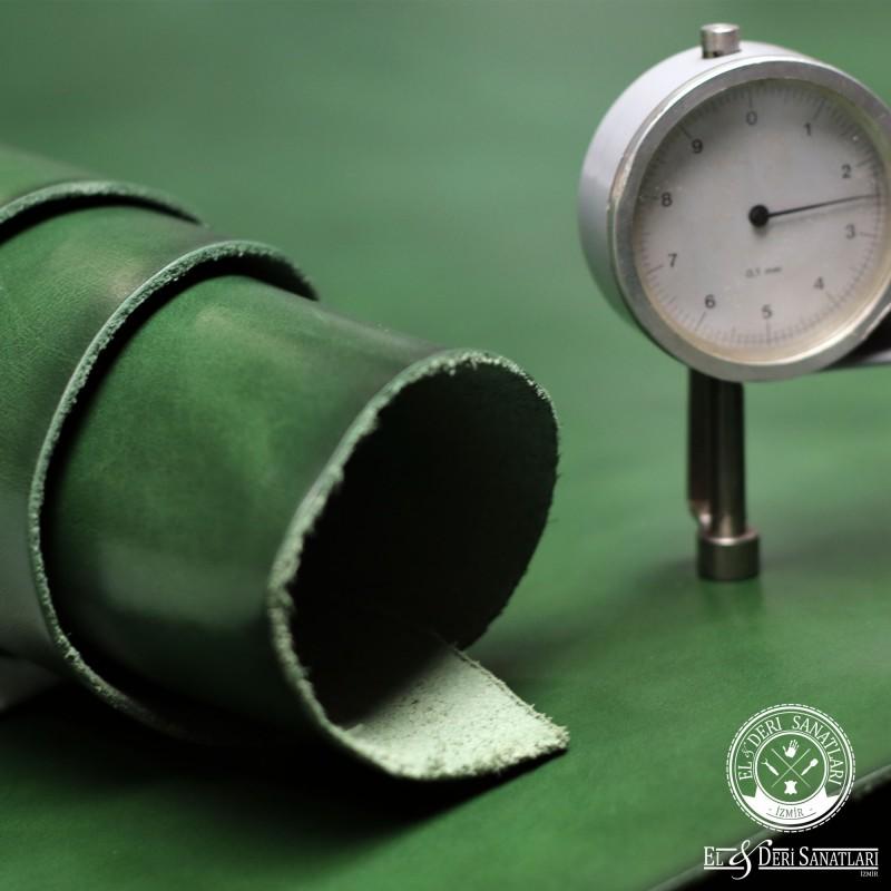 Spade Emerald Green 2,0-2,4 mm Vegetal Deri
