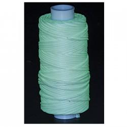 11210-40 Vakslı Örgülü Dikiş İpi 23 Metre - Fosforlu (Karanlıkta Parlar)