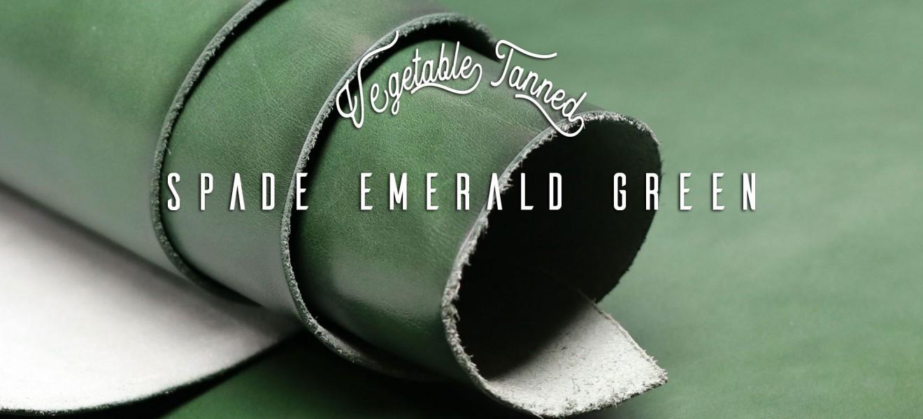 Spade Emerald Green